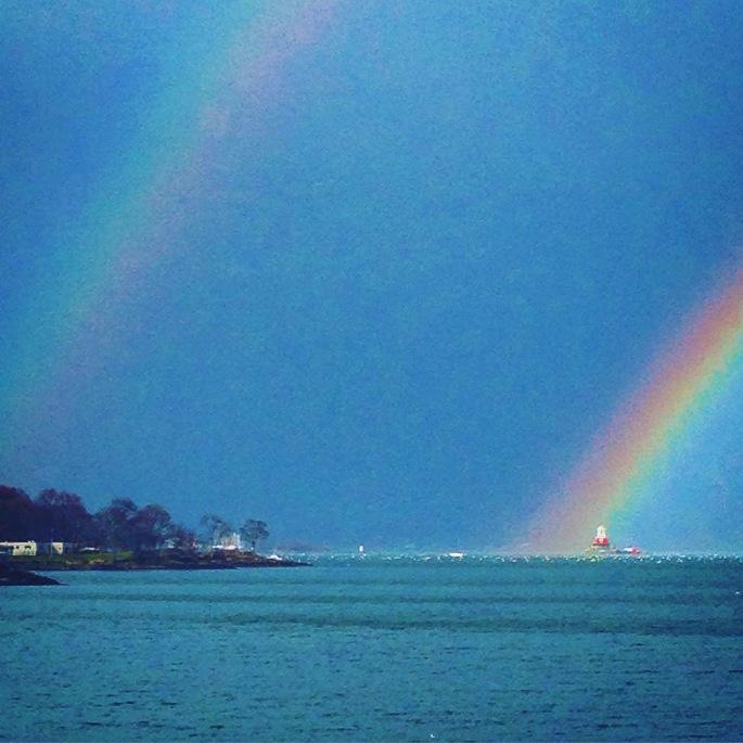 Michael's double rainbow